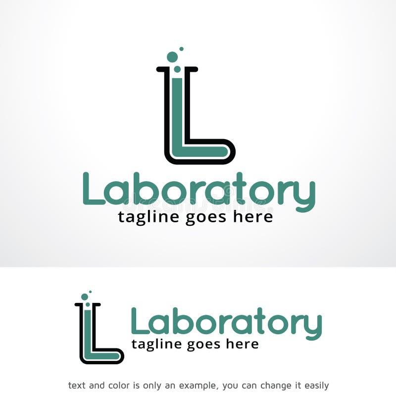 Buchstabe L Labor Logo Template Design Vector, Emblem, Konzept des Entwurfes, kreatives Symbol, Ikone vektor abbildung