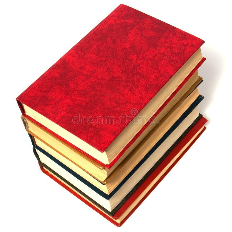 Buchstapel stockfoto