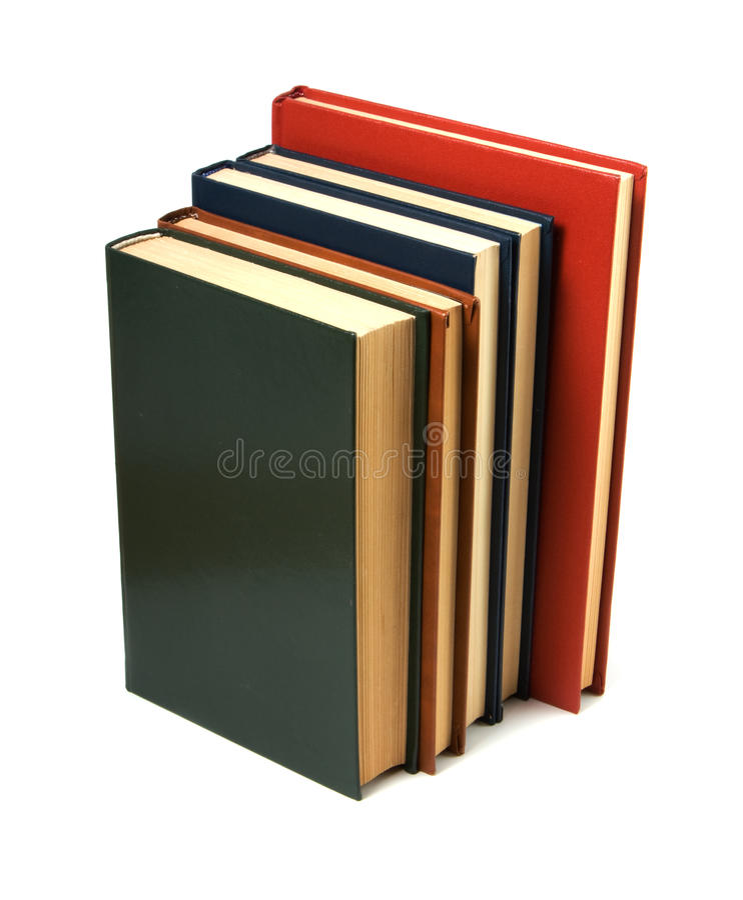 Buchstapel lizenzfreie stockfotografie
