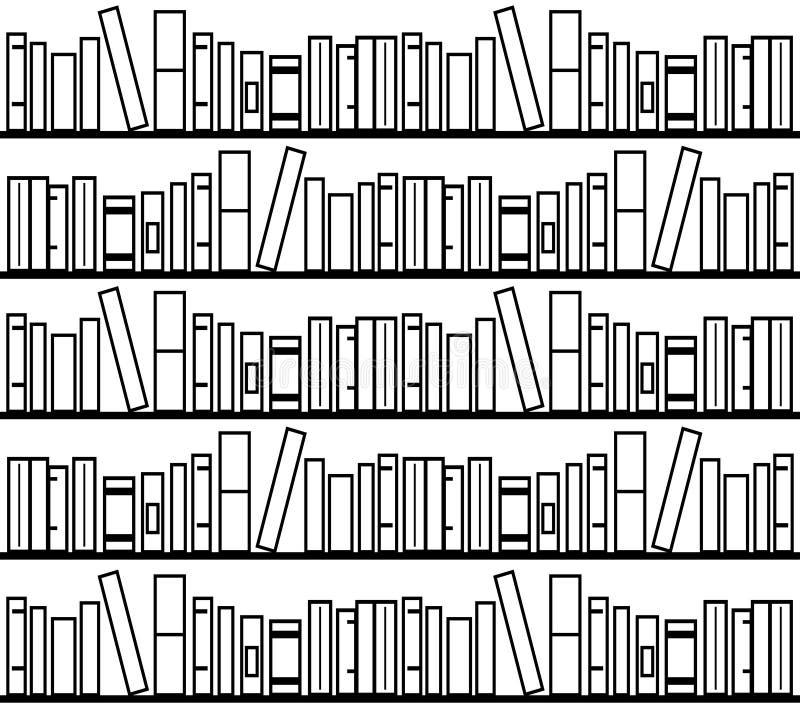 Download Bucht Bibliothek stock abbildung. Illustration von dossier - 47100390