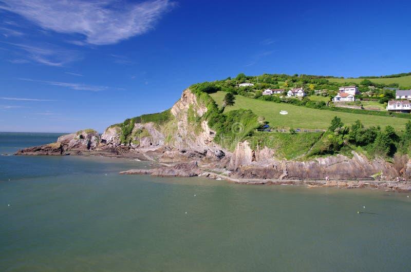 Bucht Combe Martin in Devon, England stockfoto