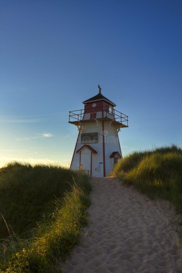 Bucht-Hauptleuchtturm lizenzfreie stockbilder