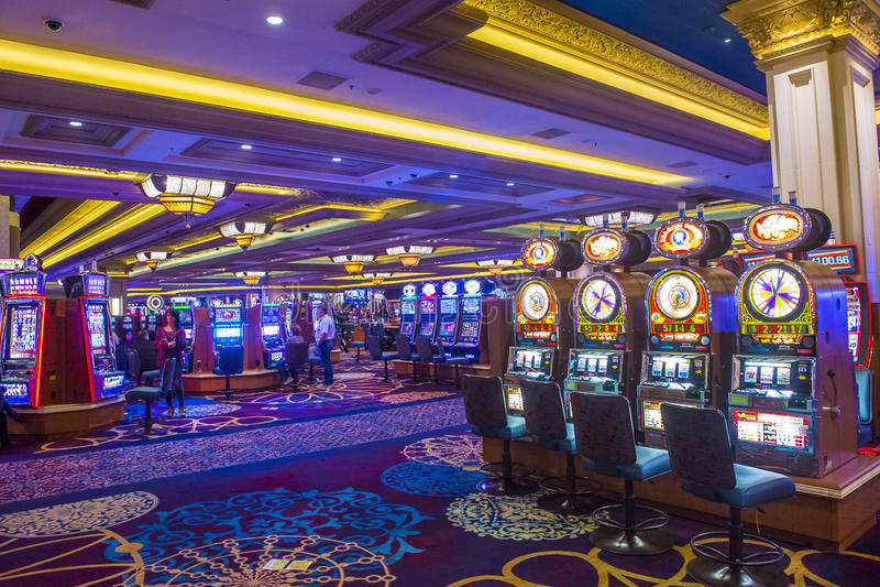 Bucht Las Vegas-Mandalay stockfotografie