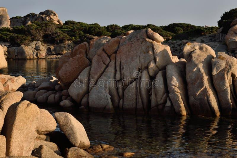 Bucht Scoglio Bianco stockbilder