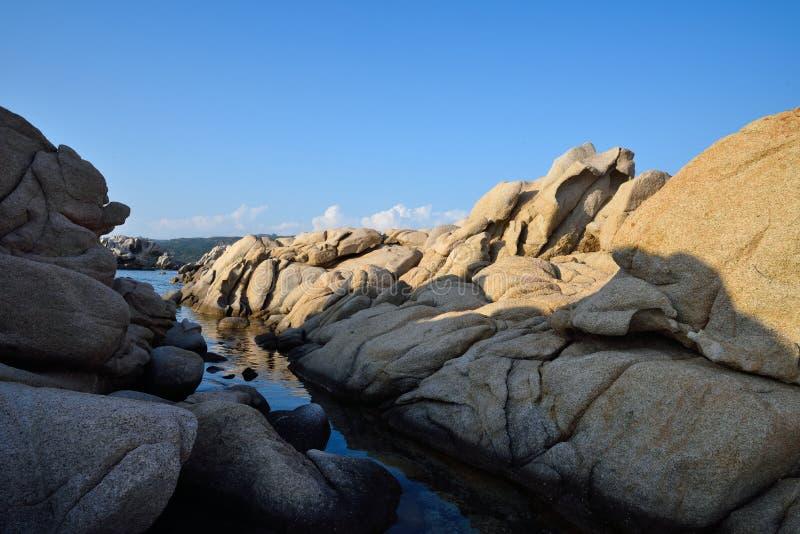 Bucht Scoglio Bianco lizenzfreie stockfotografie