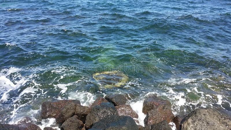 Buchtwasser stockbild