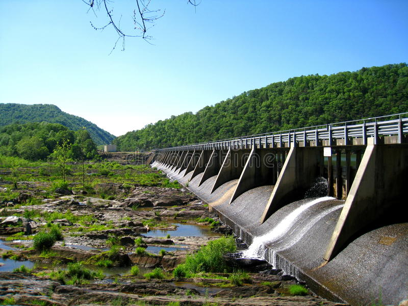 Buck Dam image stock