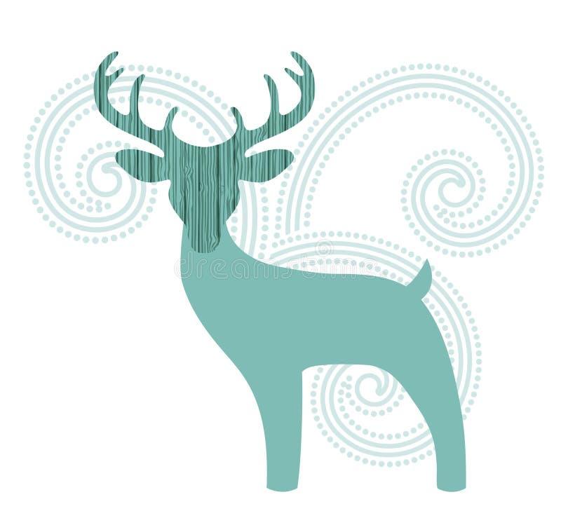 Buck Deer lizenzfreie abbildung