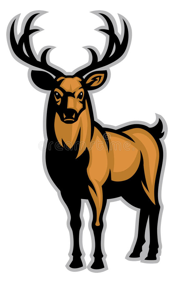 Free Buck Mascot Royalty Free Stock Photos - 73835408