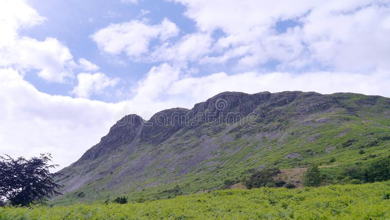 Buckbarrow, See-Bezirk stockfoto