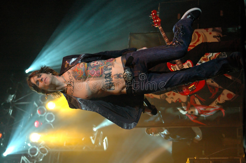 buckcherry рок-звезда todd josh стоковая фотография rf