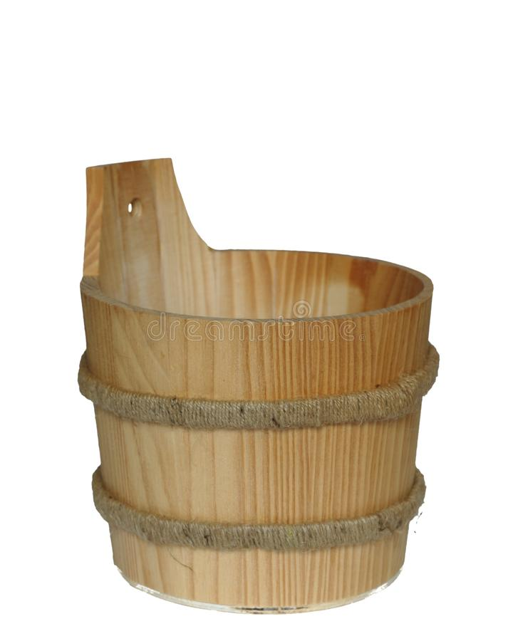 Download Bucket stock image. Image of natural, white, wooden, nature - 10202277