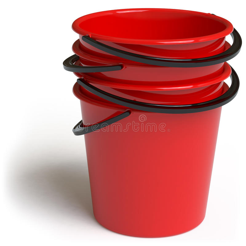 Download Bucket stock illustration. Image of pail, container, bushel - 12871787
