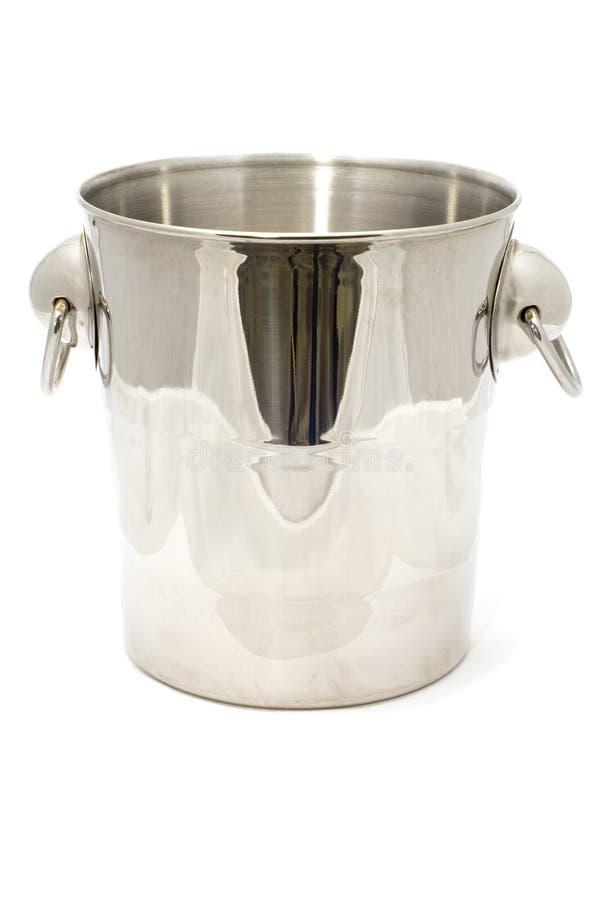 Bucket for ice stock photo