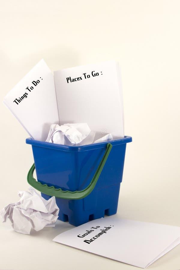 Download Bucket Lists stock photo. Image of list, accomplishments - 31528380