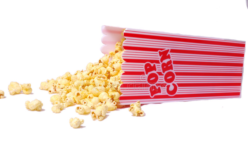 Download Bucket of Popcorn stock image. Image of ticket, movie, carnival - 471155