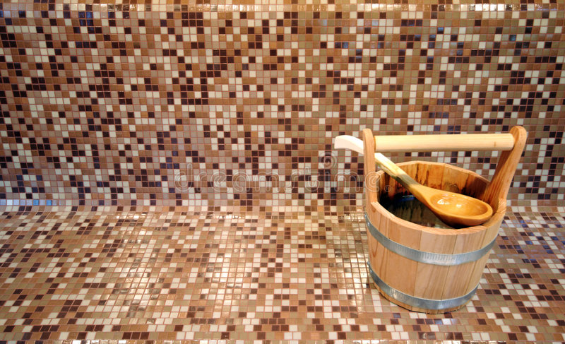 bucket sauna στοκ φωτογραφία με δικαίωμα ελεύθερης χρήσης