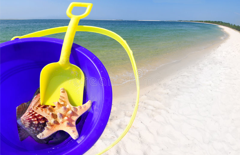 Download Bucket And Shells Stock Images - Image: 6058044