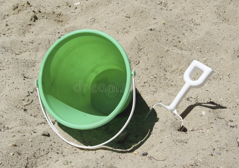 Download Bucket and Shovel stock photo. Image of castles, play, build - 6270