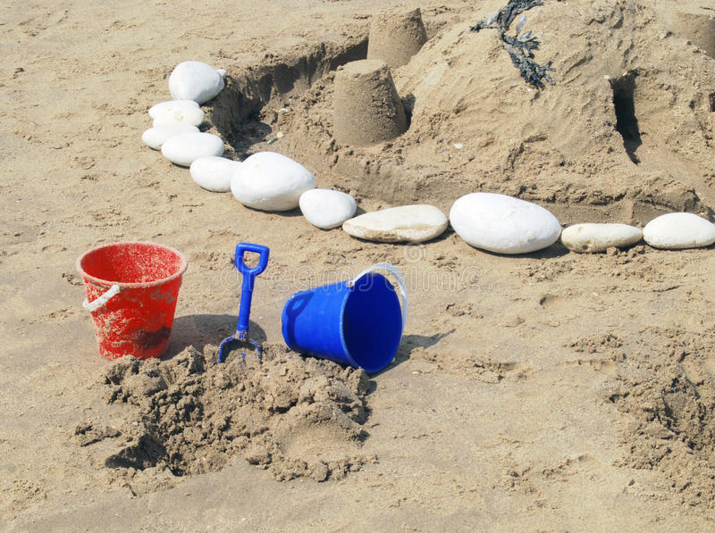 Download Bucket And Spade Stock Image - Image: 10880191