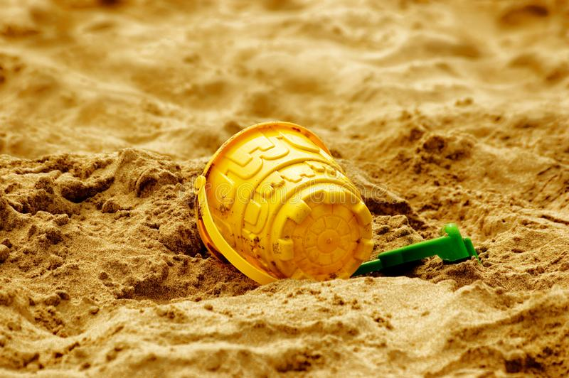 Download Bucket and spade stock photo. Image of yellow, holiday - 6252336