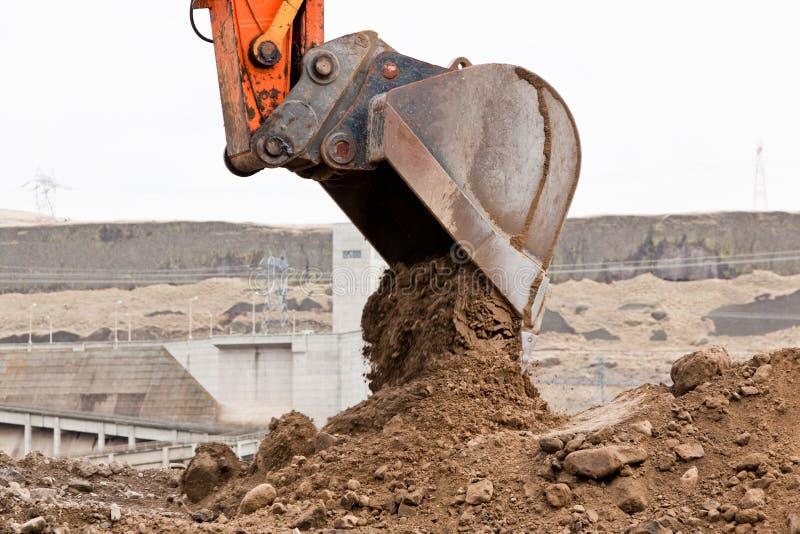 Download Bucket Unloading Dirt stock photo. Image of environment - 26903710