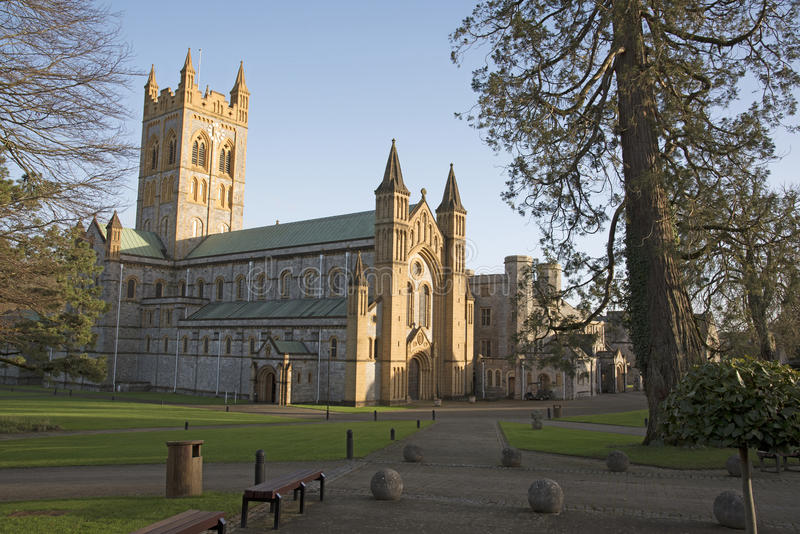 Buckfast Abbey Church et monastère dans Devon du sud R-U photo stock