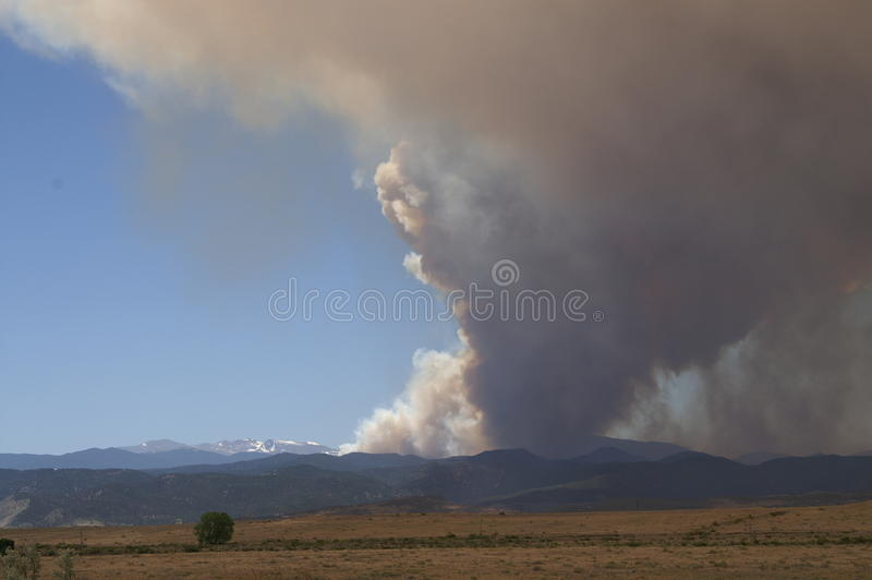 Download Buckhorn gulch forest fire editorial stock photo. Image of disaster - 25203723