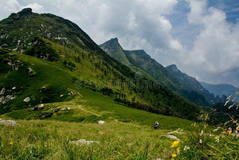 The Buckhorn Ridge of Qinling Mountain royalty free stock photos