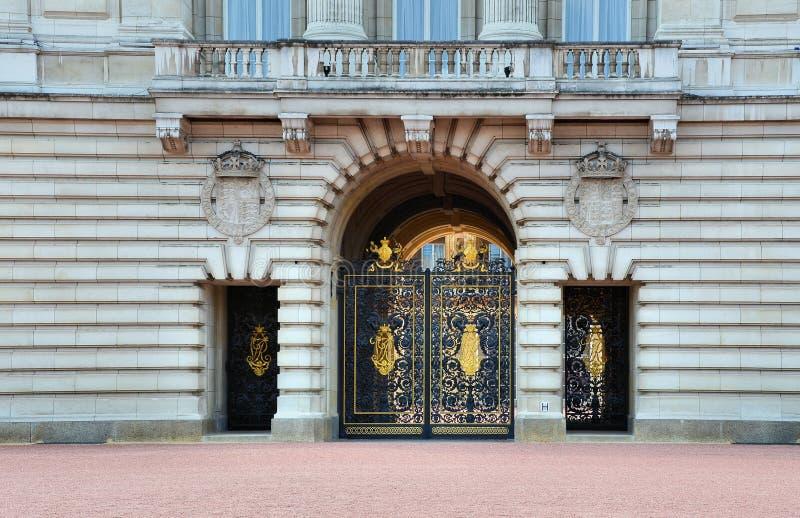 buckingham παλάτι πυλών στοκ εικόνες