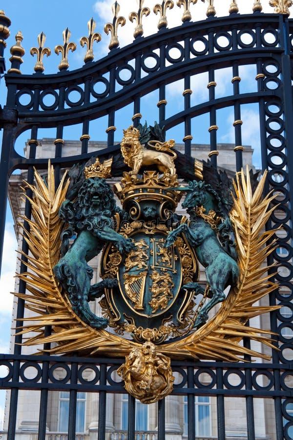 buckingham παλάτι του Λονδίνου στοκ φωτογραφία με δικαίωμα ελεύθερης χρήσης