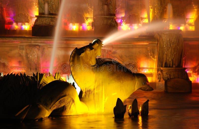 buckingham fontanny memorial zdjęcie royalty free