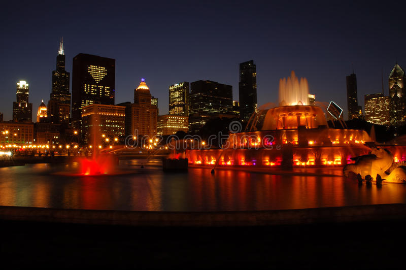 Buckingham Fountain, Chicago royalty free stock images