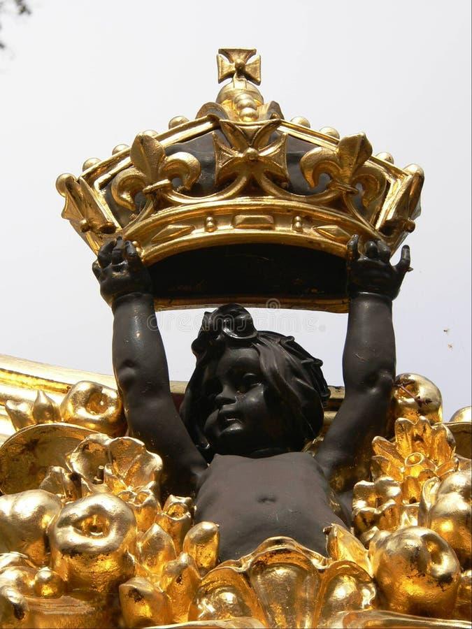 buckingham gates slotten royaltyfri fotografi