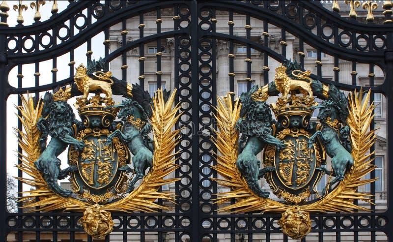 buckingham gates slotten fotografering för bildbyråer