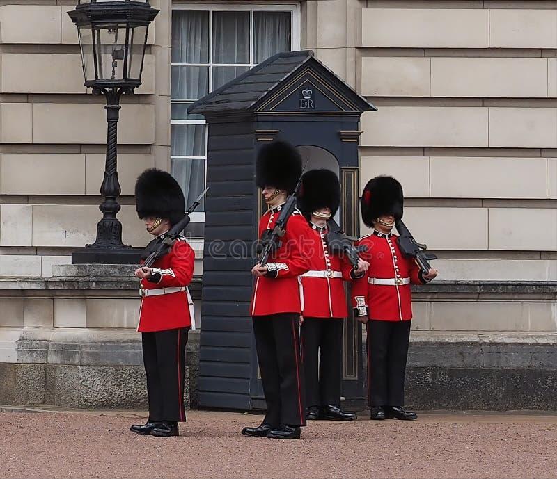 buckingham London pałac obraz stock