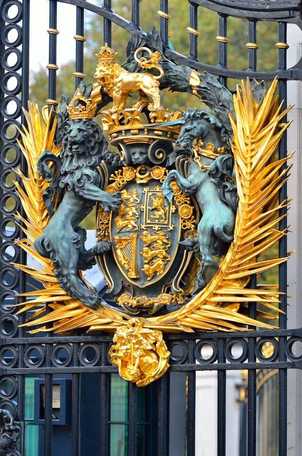 Buckingham Palace à Londres images stock