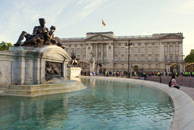 Buckingham Palace fotografía de archivo