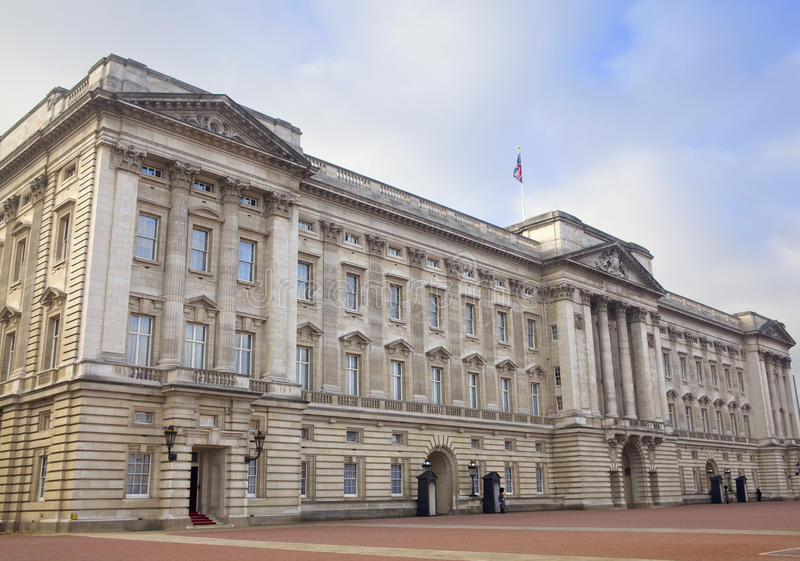 Buckingham Palace stock afbeelding