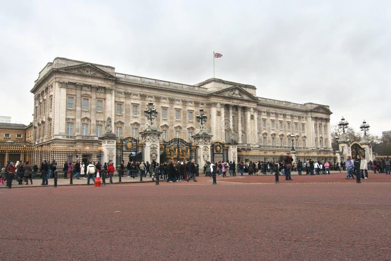 Buckingham Palace fotografia stock