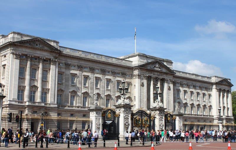 Buckingham Palace royalty-vrije stock fotografie