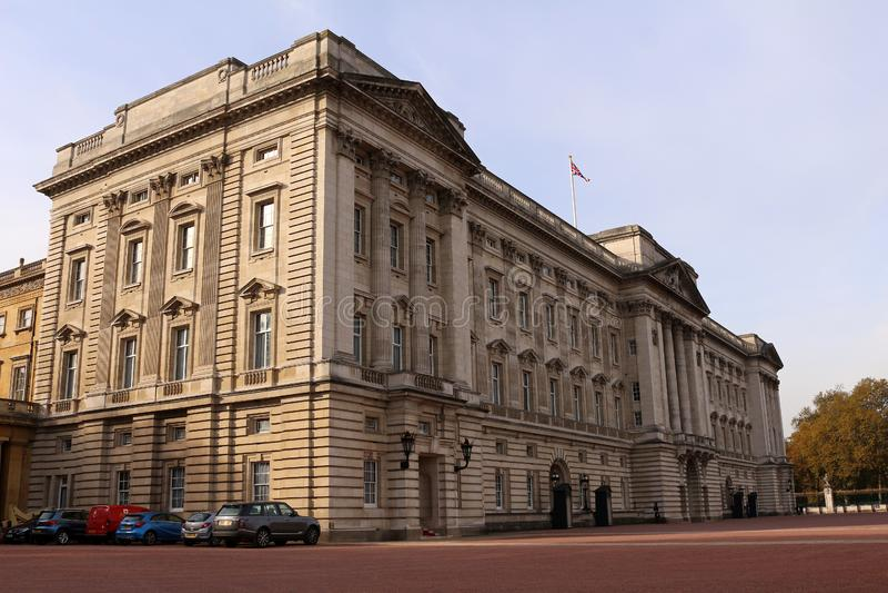 Buckingham Palace royaltyfria bilder