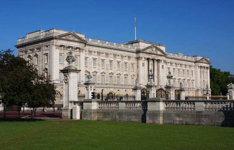 Buckingham Palace em Londres foto de stock