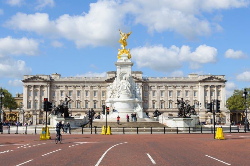 Buckingham Palace em Londres imagem de stock