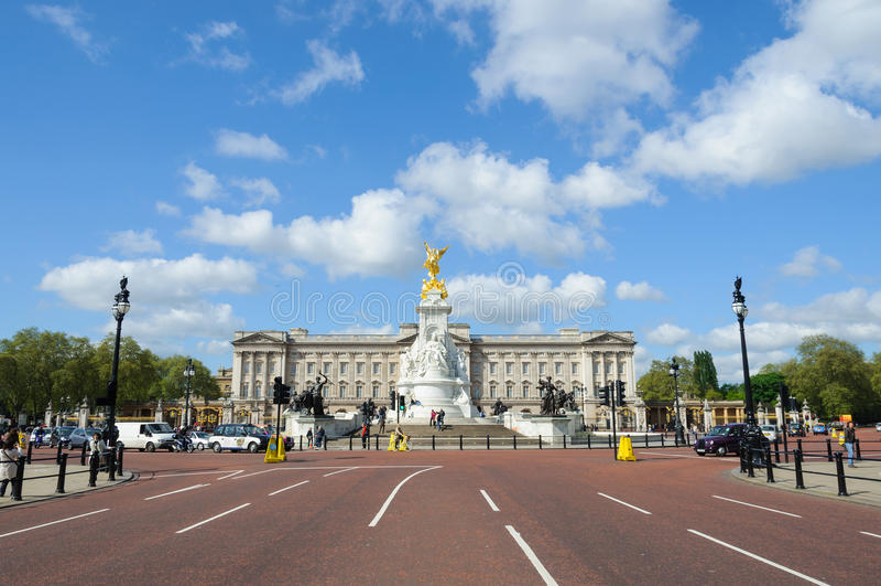 Buckingham Palace em Londres fotografia de stock