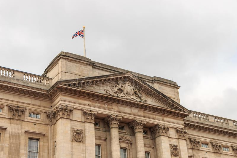 Buckingham Palace en Londres imagen de archivo libre de regalías