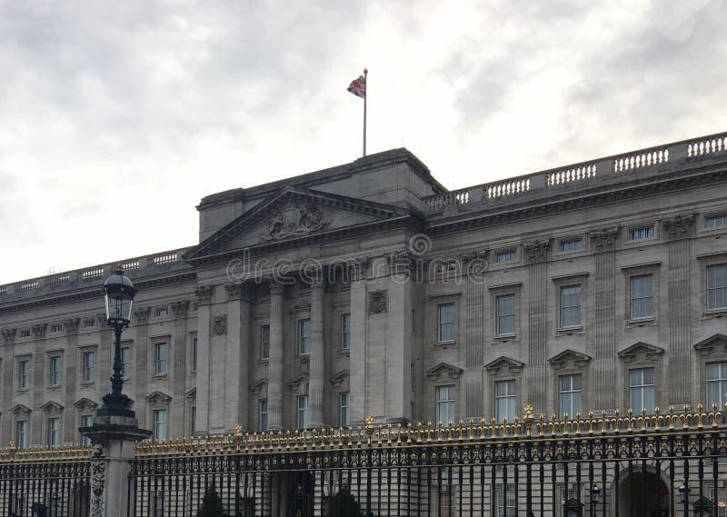 Buckingham Palace en Londres fotografía de archivo libre de regalías
