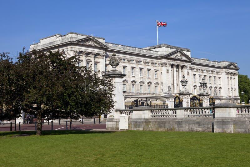 Buckingham Palace en Londres foto de archivo libre de regalías