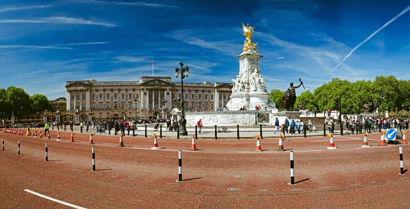 Buckingham Palace en Londres, Reino Unido foto de archivo