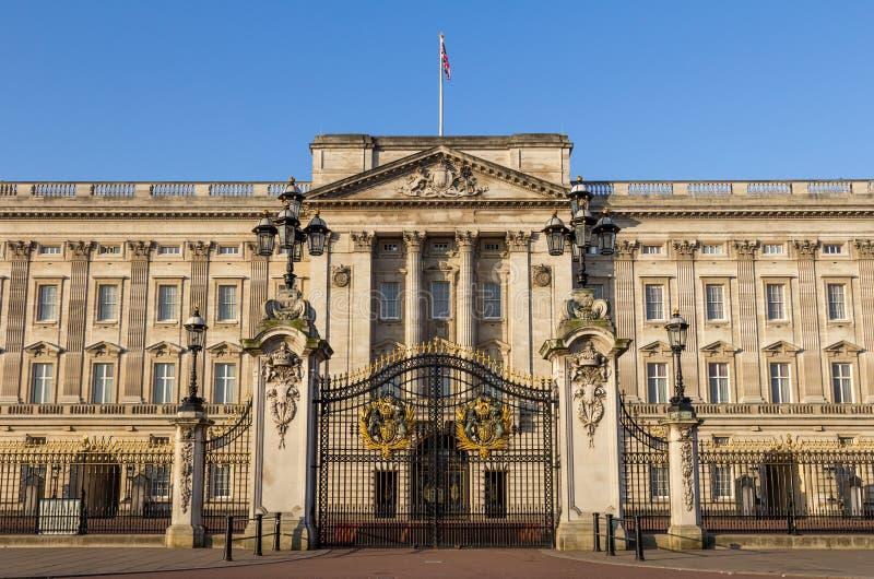 Buckingham Palace Front Gates imagen de archivo libre de regalías